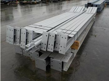 60' x 30' x 15' Steel Frame Building, 15' Bays 12.5 Degree Roof Pitch,Purlin Cleats spaced for Fibre Cement, Steel Roof Sheets, Main Frame Fixings - жилой контейнер